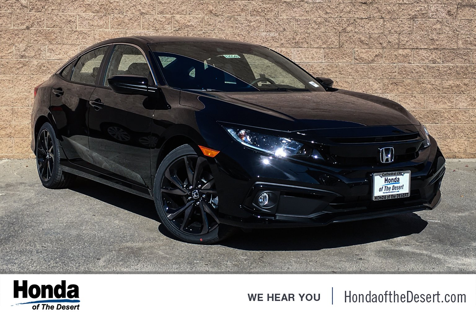 Honda Civic New >> New 2019 Honda Civic Sedan Sport Fwd 4dr Car