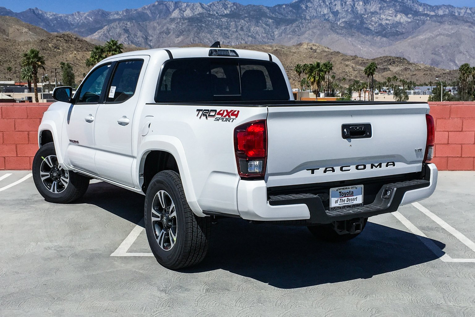 New 2019 Toyota Tacoma 4WD TRD Sport