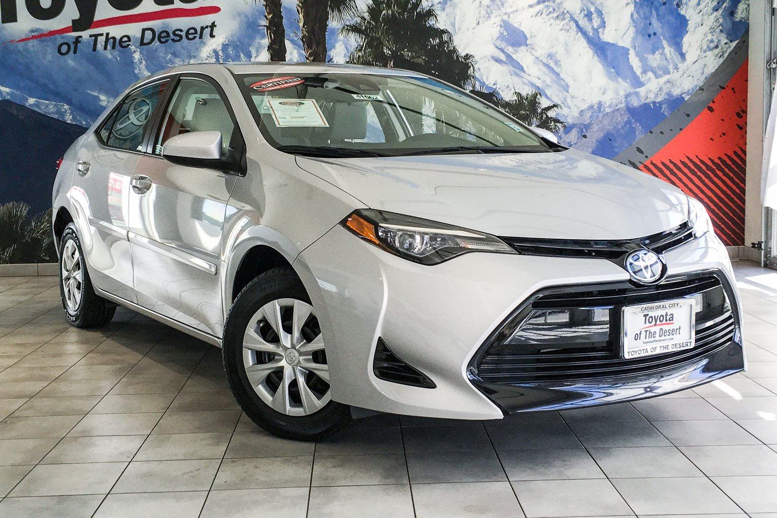 Toyota Of The Desert >> Pre Owned 2017 Toyota Corolla L Fwd 4dr Car